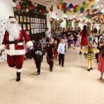 Odwiedziny Świętego Mikołaja podczas Mikołajek